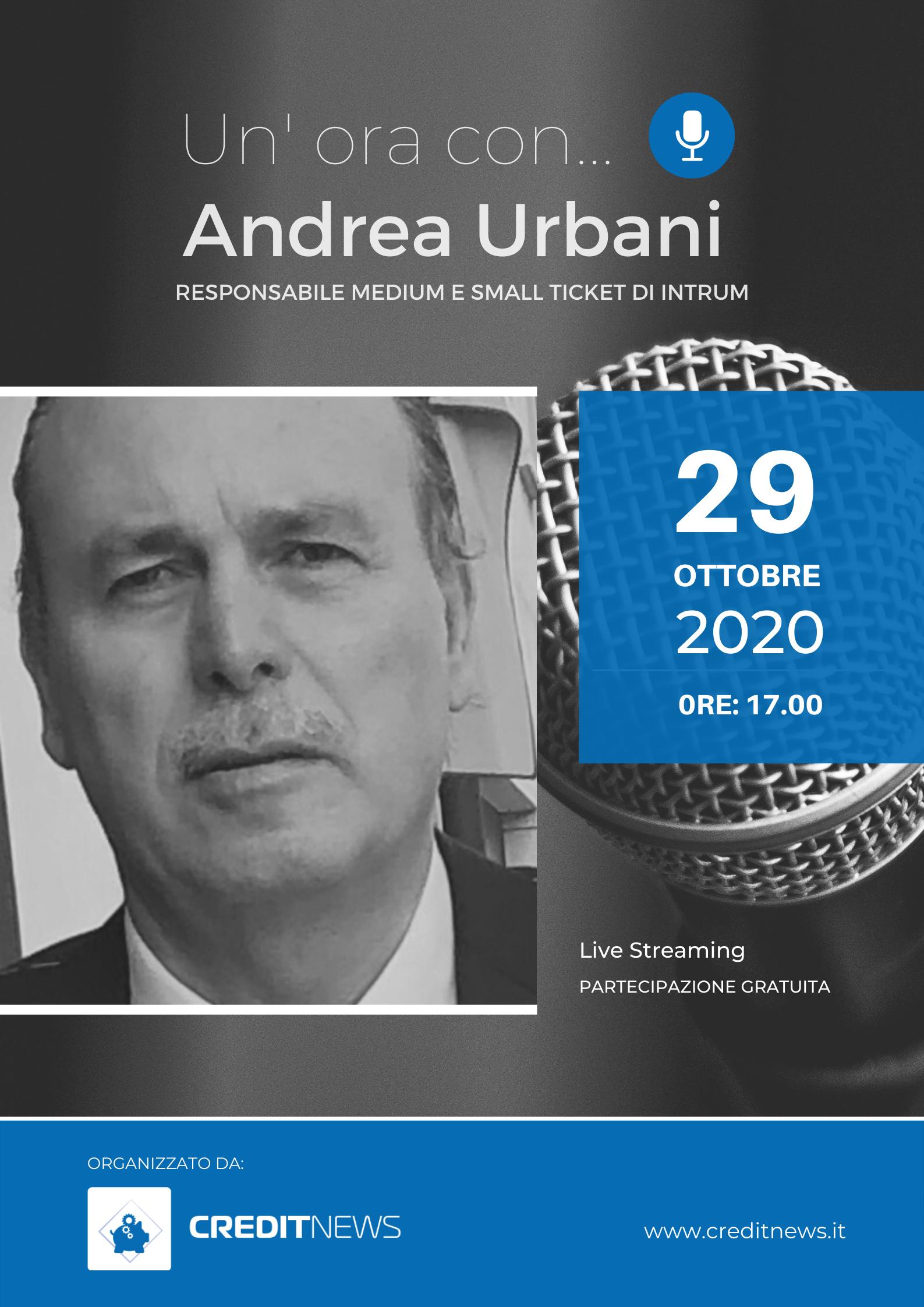 Un'ora con… Andrea Urbani