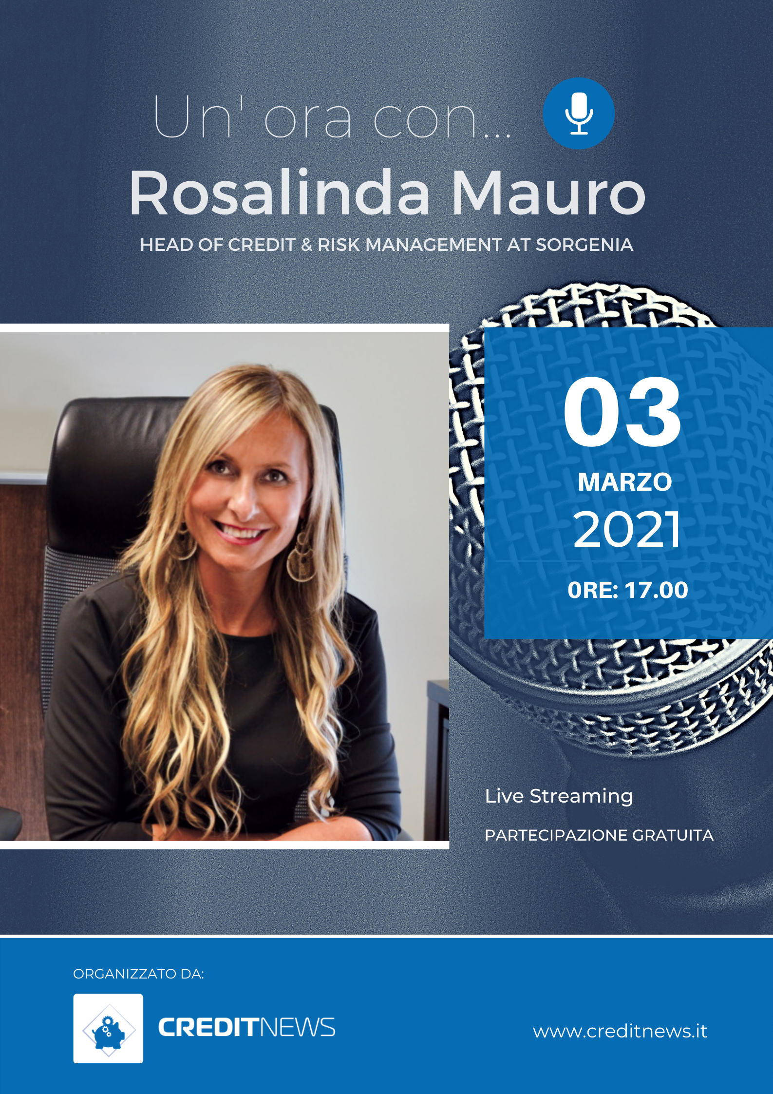 Un'ora con… Rosalinda Mauro, Head of Credit & Risk management di Sorgenia