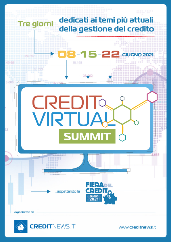 8, 15, 22 Giugno 2021 - CREDIT VIRTUAL SUMMIT