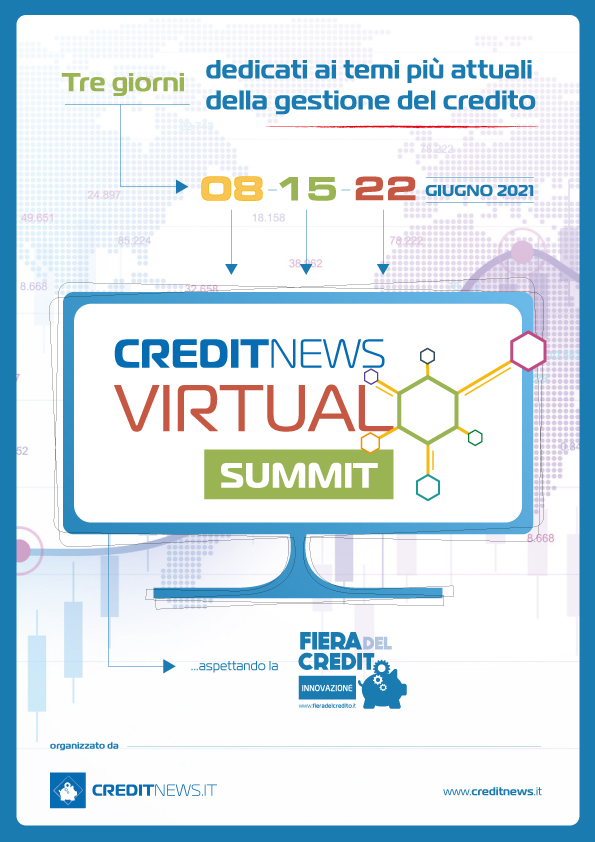 8, 15, 22 Giugno 2021 - CREDITNEWS VIRTUAL SUMMIT