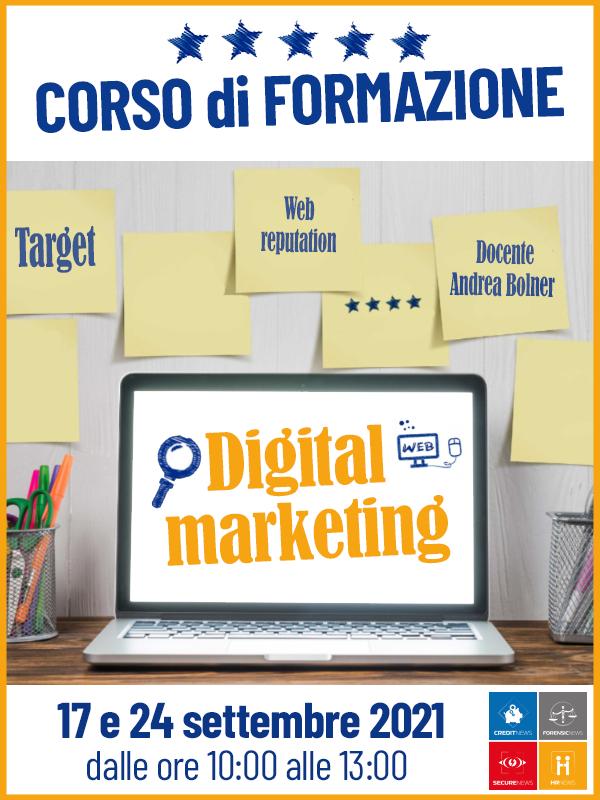 Corso di formazione Digital Marketing